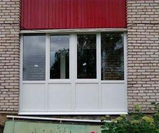 Балконная рама из ПВХ. Дзержинск. №8