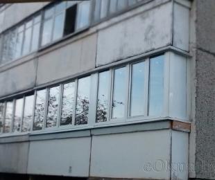 Балконная рама из ПВХ. Дзержинск. №9