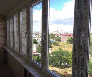 Балконная рама из ПВХ. Дзержинск. №11