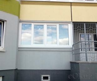 Балконная рама из ПВХ. Дзержинск. №3