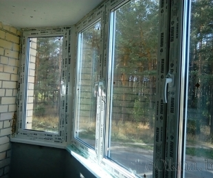 Балконная рама из ПВХ. Дзержинск. №4