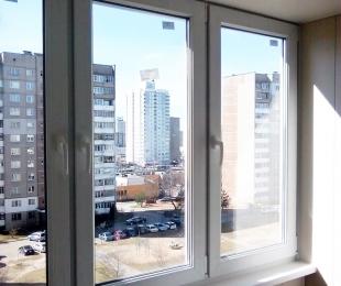 Балконная рама из ПВХ. Дзержинск. №1