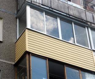 Балконная рама из алюминия. Дзержинск. №1