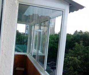 Балконная рама из алюминия. Дзержинск. №5