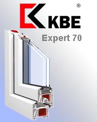 Оконный профиль KBE expert 70