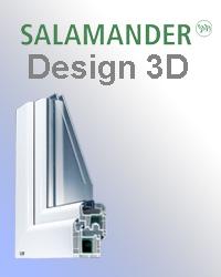 Оконный профиль Salamander 3d